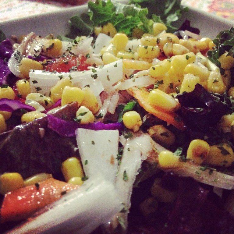saladas saudáveis