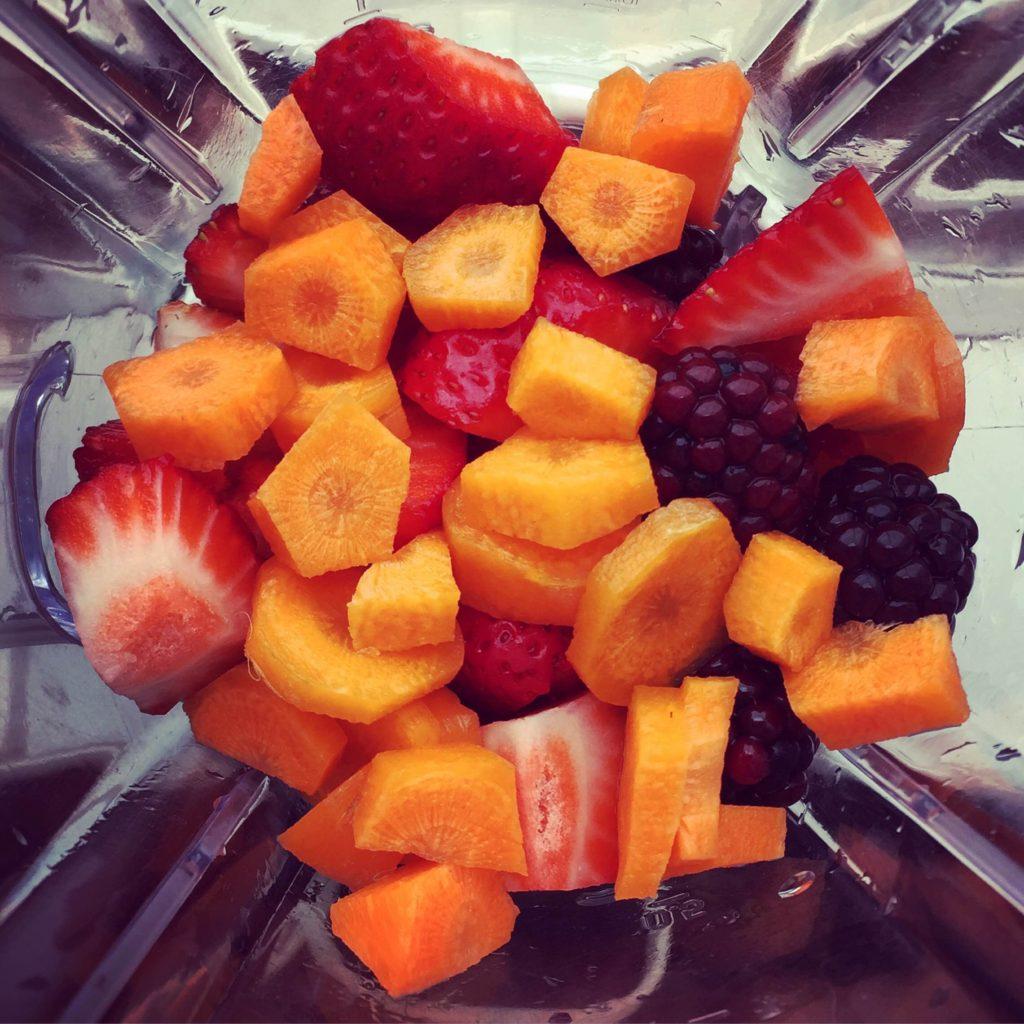 Legumes e Fruta