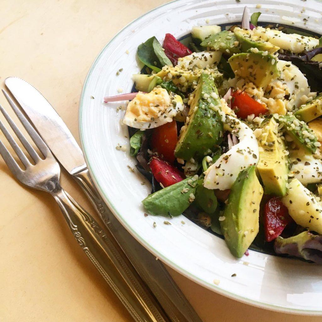 Salada fresca | Setembro sem carne